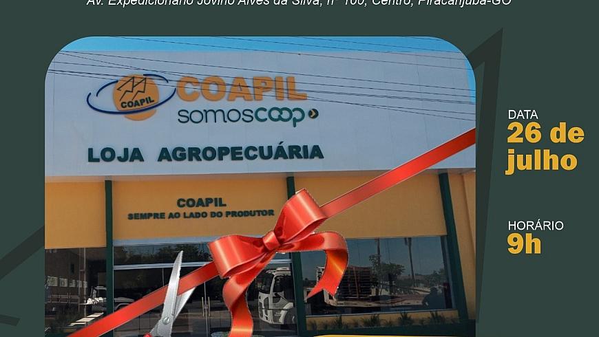 Inauguração Loja Coapil